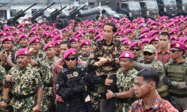 Presiden Minta Marinir Berperan sebagai Perekat Kebhinekaan