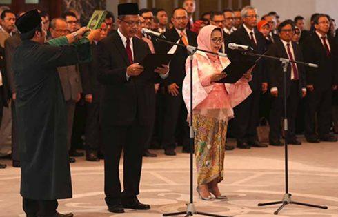 Sugeng dan Rosmaya Dilantik sebagai Deputi Gubernur BI