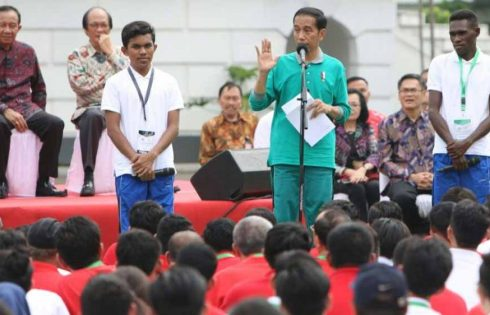 Presiden Jokowi Luncurkan Program Penguatan Pendidikan Pancasila