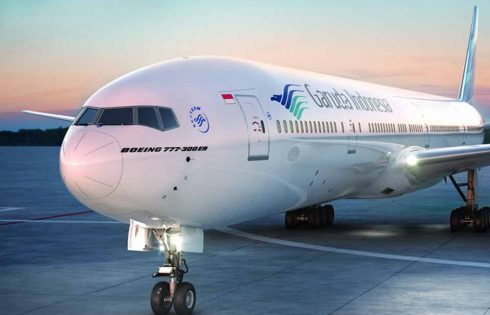 Garuda Indonesia Raih Predikat Maskapai Bintang Lima dari Apex