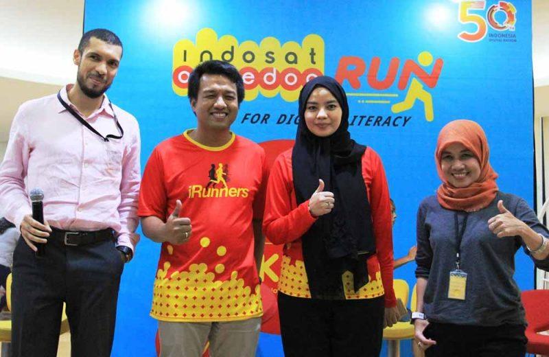 Berlari 50K Secara Virtual untuk Literasi Digital Indonesia