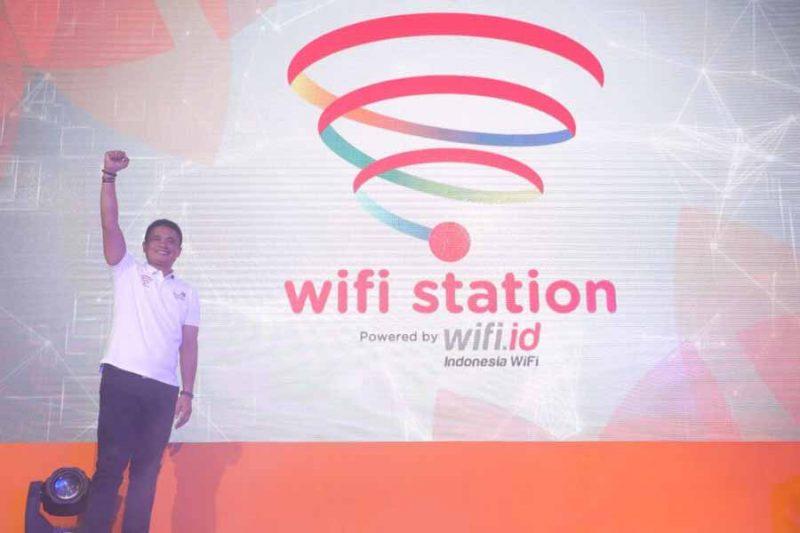Telkom Suguhkan WiFi Corner 2.0 dan WiFi Station