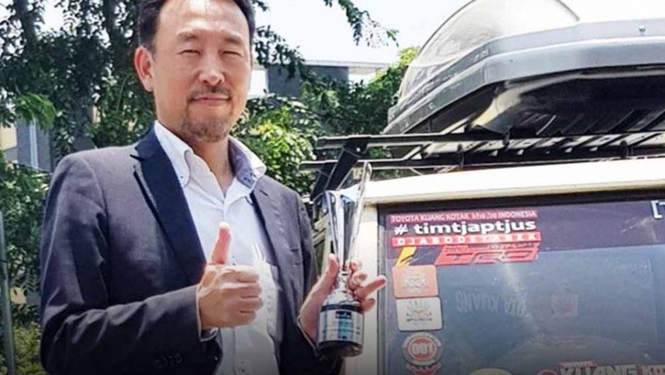 Presdir TAM Yoshihiro Nakata Raih Best Achiever In CEO Private Sector