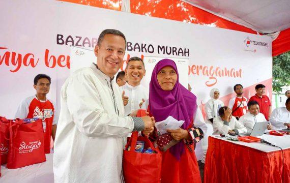 Roadshow Ramadan, Telkomsel Berbagi dengan 5.000 Anak Negeri