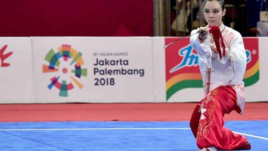 Raih Emas di Asian Games 2018, Lindswell Kwok Dijuluki Ratu Wushu Asia