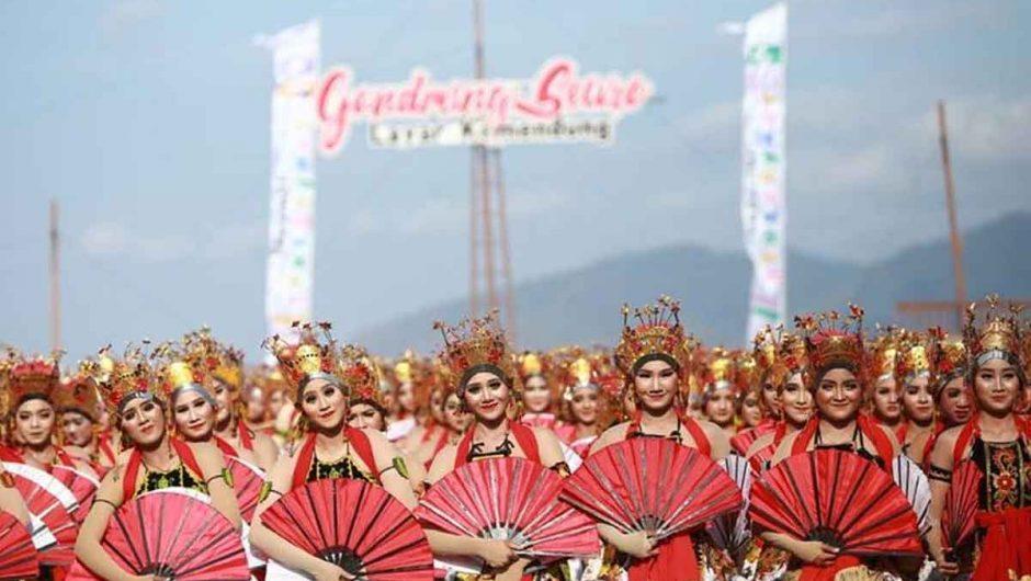 Gandrung Sewu Kembali Masuk Kalender Wisata Nasional 2019