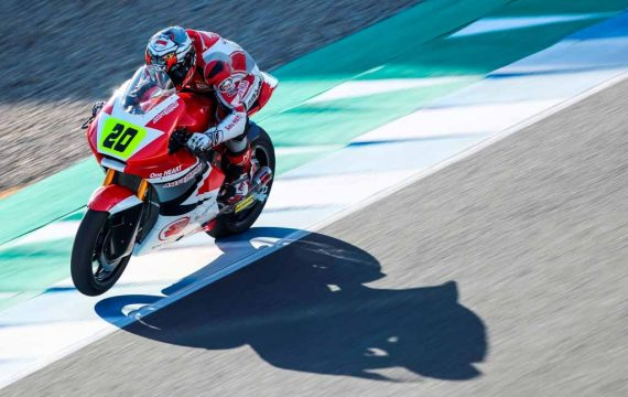 Dimas Ekky Tampil Impresif dalam CEV Moto2 Jerez