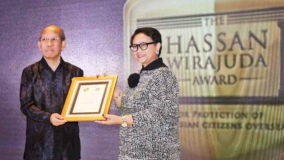 Kemenlu Gelar Hassan Wirajuda Perlindungan WNI Award