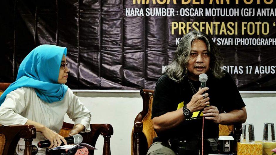 Oscar Ingatkan Fotografer tetap Cerdas dalam Berkarya