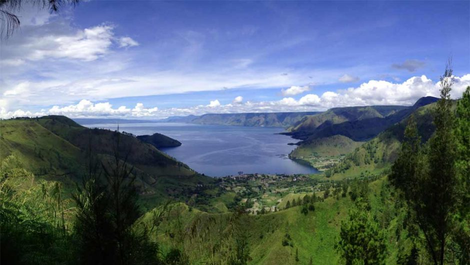 Danau Vulkanik Terbesar di Asia Tenggara