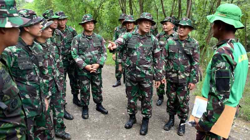 Panglima TNI Ikuti Lomba Ketangkasan Militer