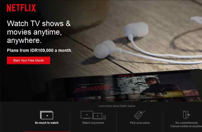 Telkom : Pemblokiran Netflix untuk Melindungi Pelanggan