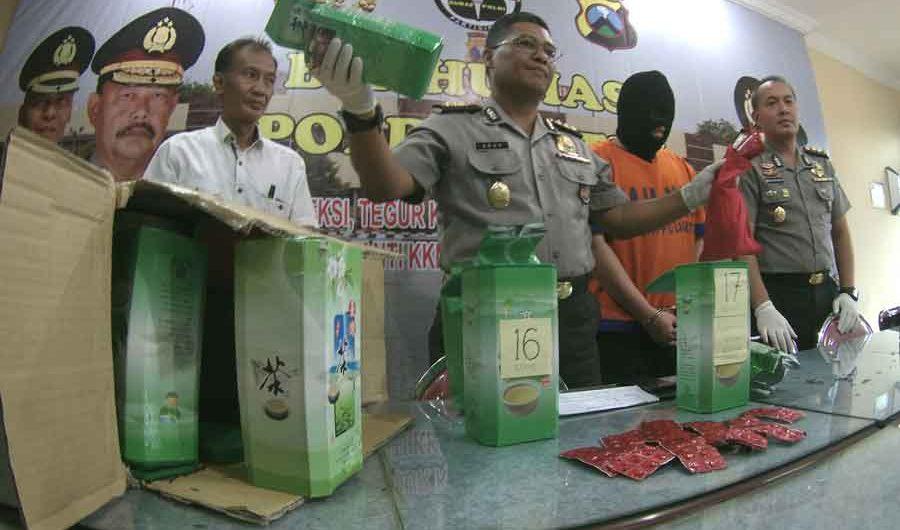 Ditnarkoba Polda dan BNNP Jatim ungkap Kasus Narkotika