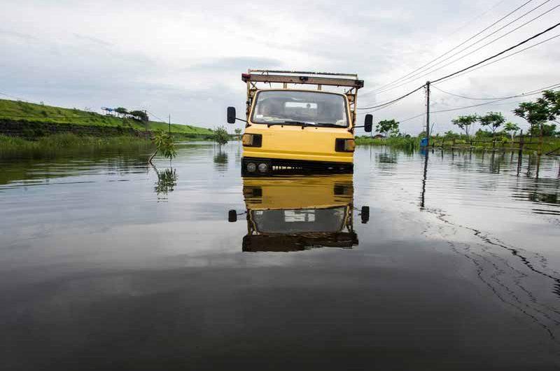 Porong Banjir, Beberapa Jadwal Kereta Dihentikan