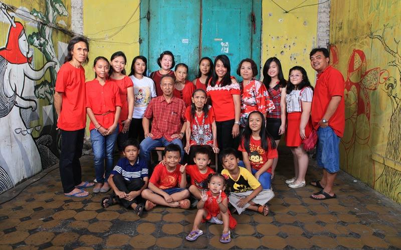 Penanda Sejarah Keluarga di Kampung Tambak Bayan