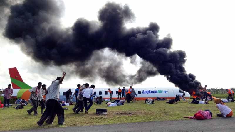 Pelatihan Penanggulangan Keadaan Darurat ke-88 Bandara Juanda