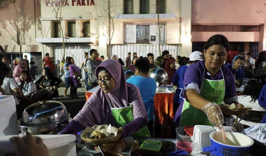 Pesta Rakyat Surabaya di Jalan Tunjungan