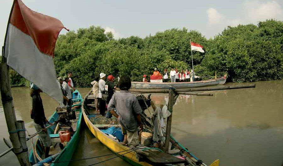 Semangat Kemerdekaan di Mangrove Pamurbaya