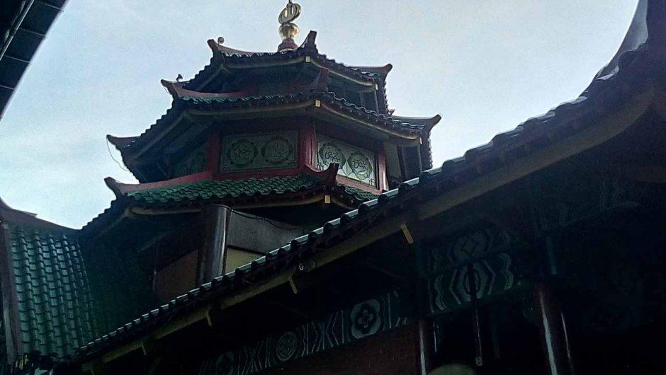 Warna-warni Masjid Cheng Hoo