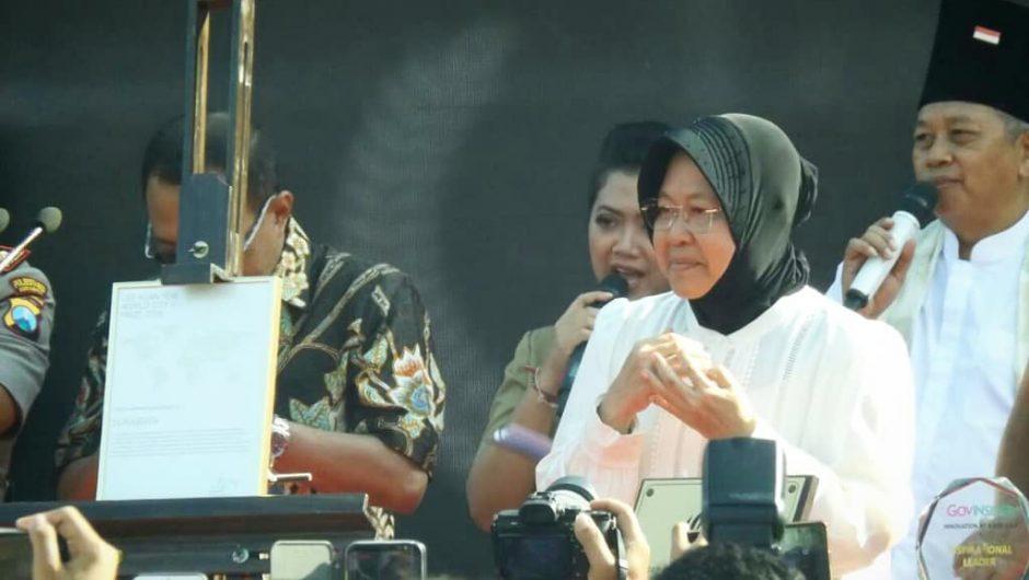 Dukungan Warga Antar Surabaya Raih Lee Kuan Yew World City Prize