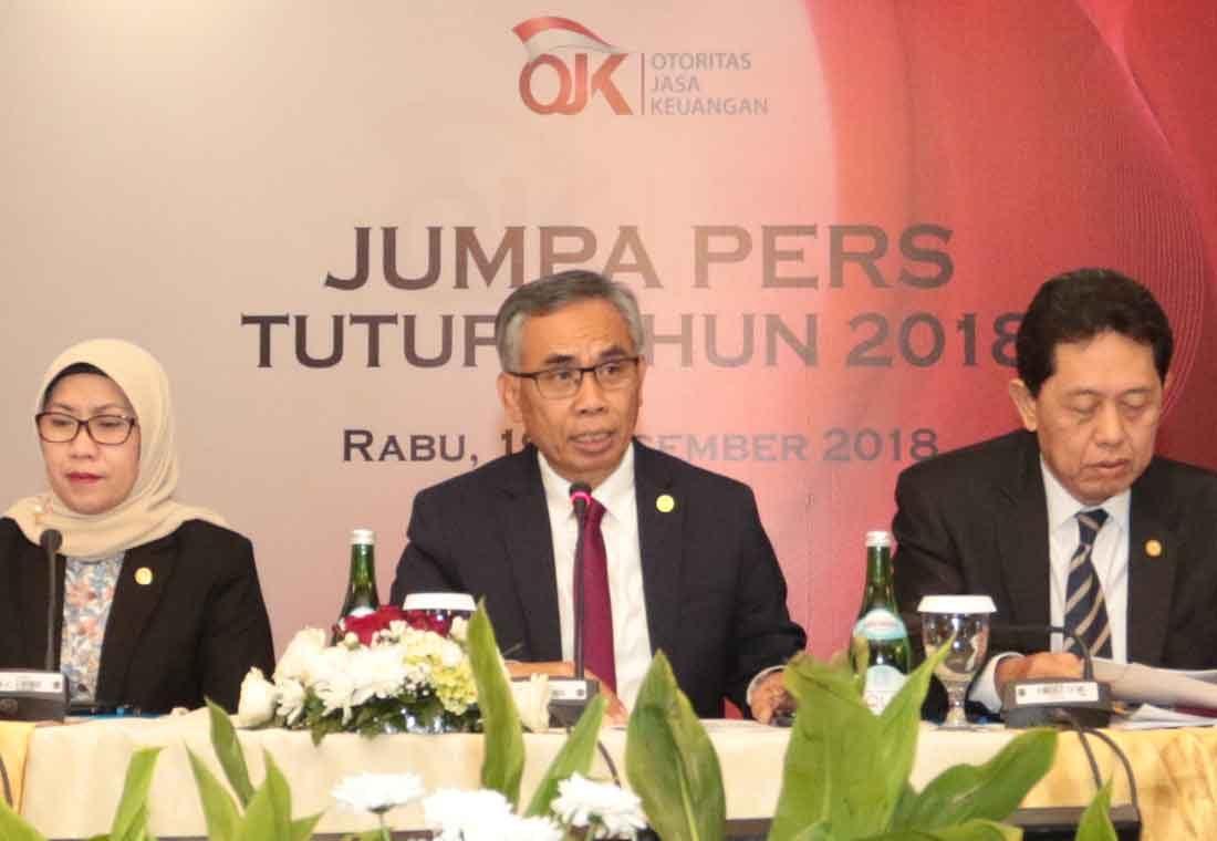 OJK Nilai Sektor Jasa Keuangan 2018 Stabil