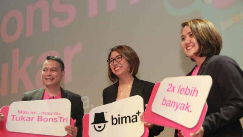 Bidik Anak Muda, 3 Indonesia Luncurkan Dua Program Andalan