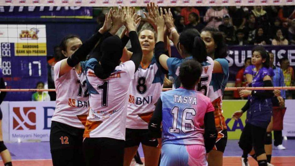 Tim BNI 46 Raih Kemenangan di Putaran Pertama Proliga 2019