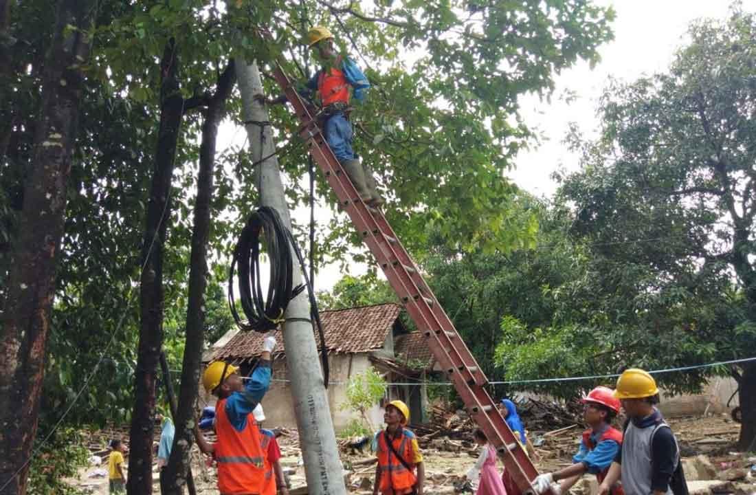 Pemulihan Kelistrikan Paska Tsunami Selat Sunda