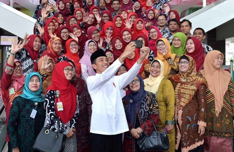 Kunjungan Presiden di Unisa Yogyakarta
