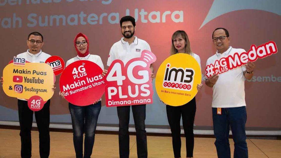 Indosat Ooredoo Perluas Jaringan 4G Plus di Sumatera Utara