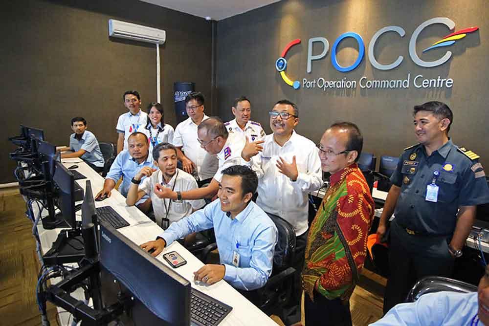 Pelindo III Luncurkan Inovasi Pusat Kontrol Layanan Kepelabuhanan