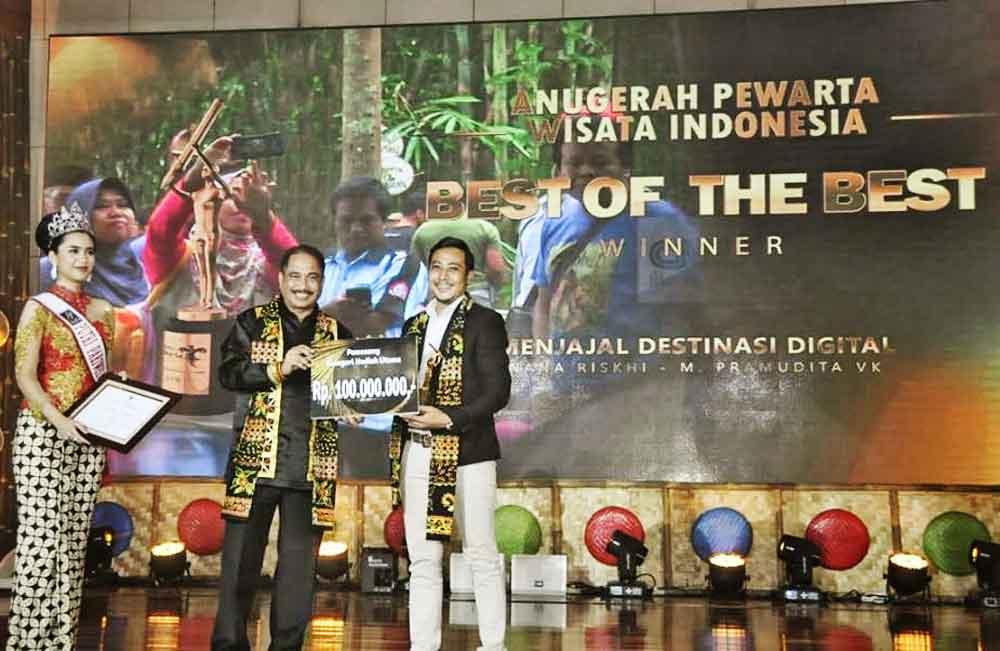 Ini Dia, Pemenang Anugerah Pewarta Wisata Indonesia 2018