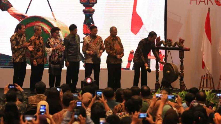 Hakordia Resmi Dibuka Presiden Joko Widodo
