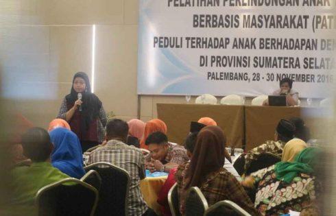Pemda Sumatera Selatan Terus Berkomitmen Melindungi Anak