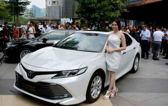 Toyota Buka Awal 2019  dengan All New Camry