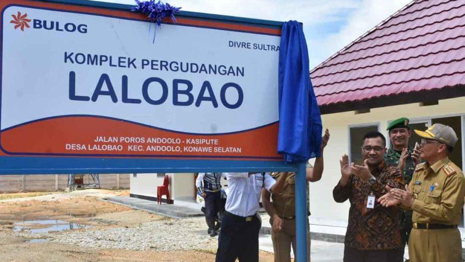 Perkuat Stabilitas Pangan, Bulog Bangun Gudang Baru di Lalobao