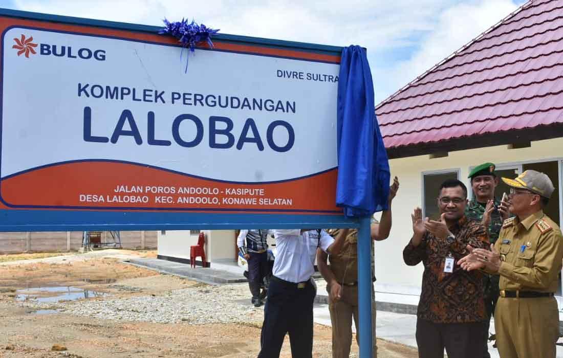 Gudang Baru di Lalobao
