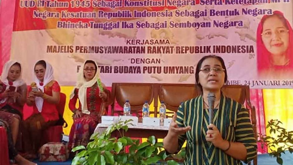 4 Pilar MPR untuk Budayawan Komunitas Kekunaan Jimbe Blitar
