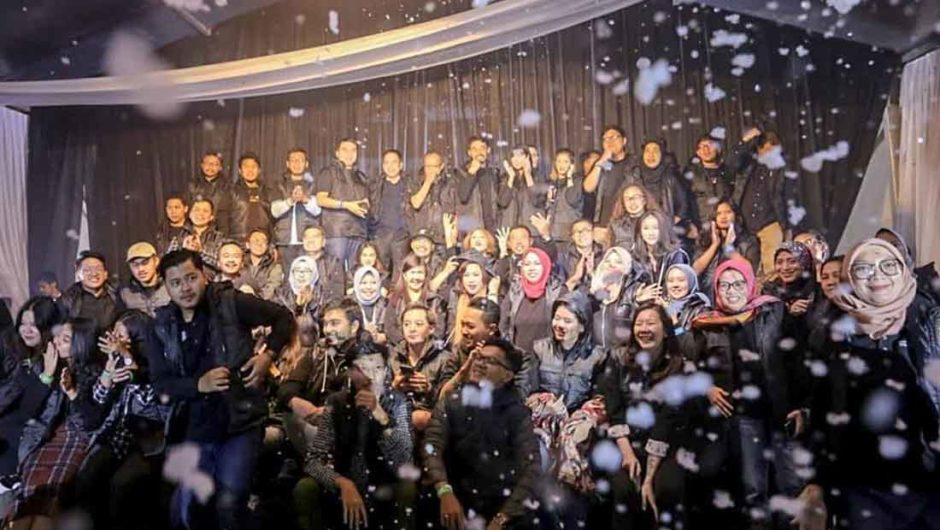 Aksi Selebgram di Wonderful Noon Bandung 2019