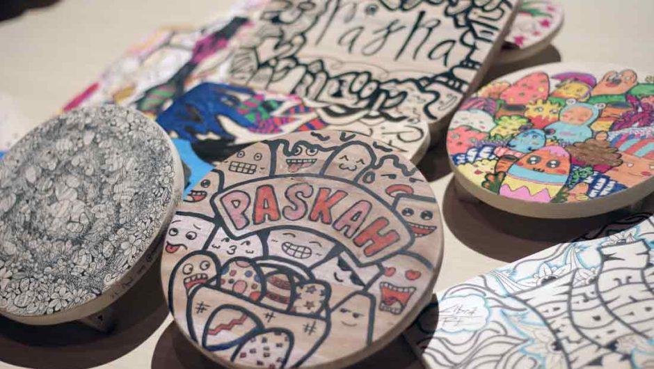 Mengukir Semangat Paskah lewat Doodle Art