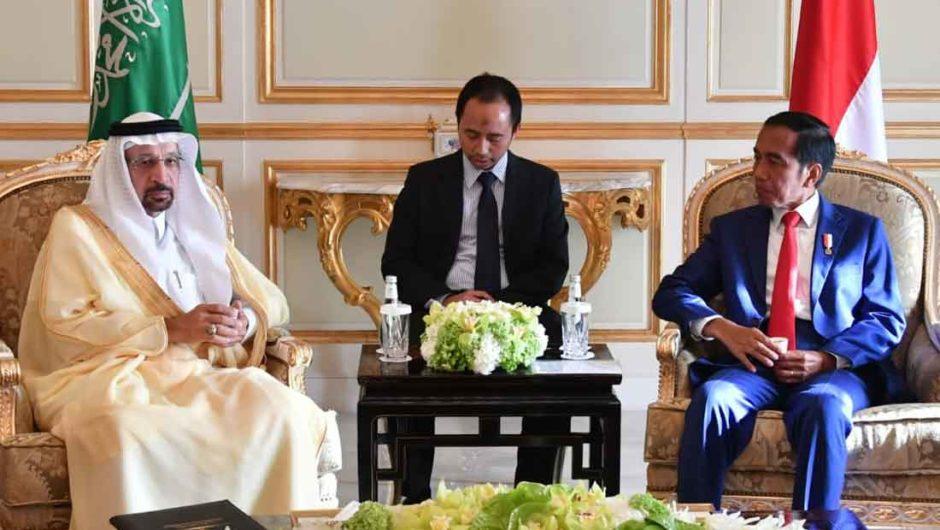 Presiden dan Menteri Energi Arab Saudi Bahas Kerja Sama Energi