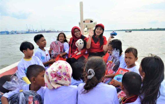 Rayakan Hari Merdeka, Pelindo 1 Berbagi Cerita bareng Anak Belawan