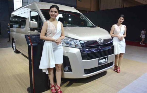 Bidik Segmen Premium, TAM luncurkan HiAce Premio