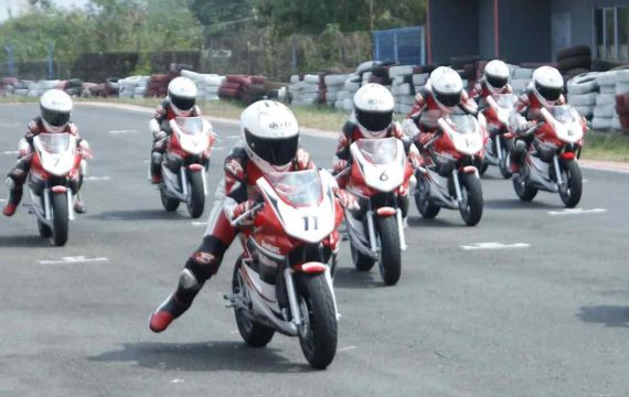Asah Mental Juara di Astra Honda Racing School