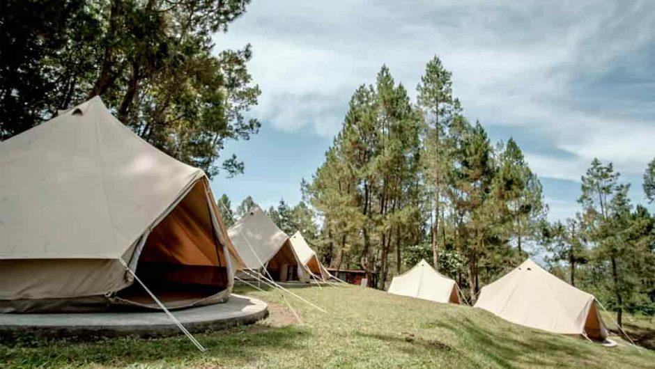 Glamorous Camping Akan Dikembangkan di Danau Toba