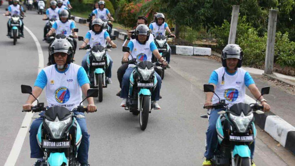 PLN Aceh Inspeksi Aset dengan Motor Listrik