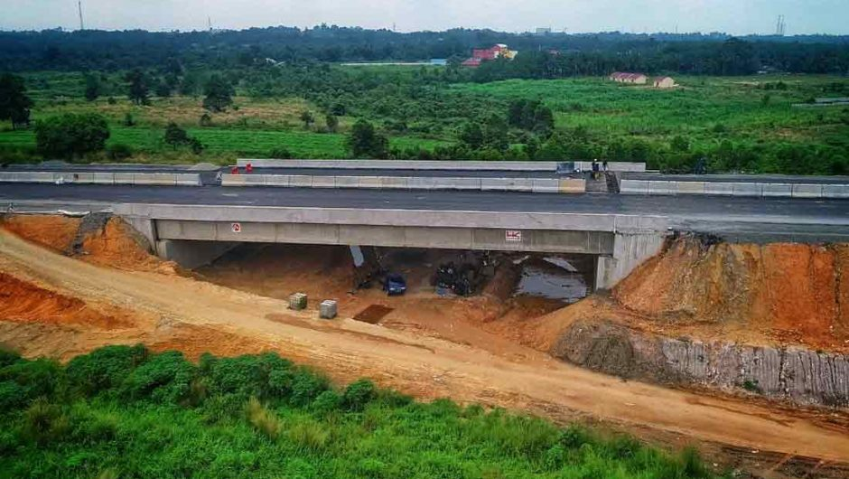 Terima PMN 11 Triliun di 2020, Hutama Karya Percepat Pembangunan Tol Trans Sumatera