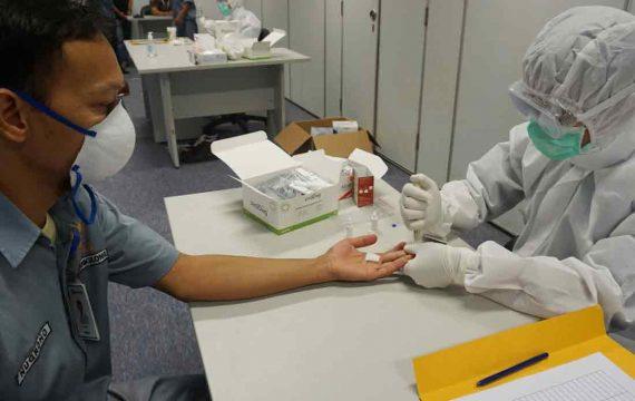 Peruri Gelar Rapid Test jelang New Normal