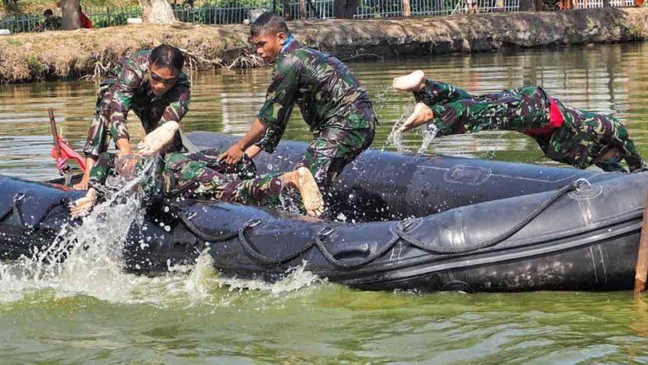 Brigif 2 Marinir Gelar Lomba Binsat Batalyon Unggul