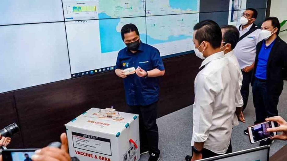 Menteri BUMN Minta Bio Farma Tingkatkan Kesiapan Produksi Vaksin Covid-19